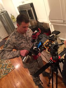 When using a uniformed actor in a video project, be sure to adhere to all published military appearance regulations.